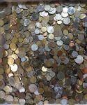 Иностранные монеты / кошелка 00 кг.!! / 0200-2500 шт./!!!