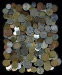 Набор 000 разных!! типов иностранных монет / VF-BUNC