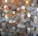 Набор 00 разных типов иностранных монет • VF - BU