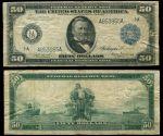 США 0914г. P# 062 / 00 долларов Федеральный потенциал / F- / Генерал Грант