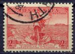 АВСТРАЛИЯ 1936г. GB# 159 / 2d. / USED F-VF / НАУКА