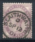 АНГЛИЯ 1881г. GB# 174 / 1d. / USED F-VF