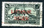 ЛАТАКИЯ (СИРИЯ) 1931-3г. SC# 16 / 6 pi. / USED F-VF / АРХИТЕКТУРА