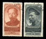 СССР 1952г. СОЛ# 1622-3 / Ф. ДЗЕРЖИНСКИЙ / USED F-VF