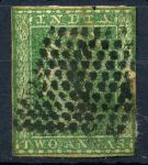 Индия(брит.) 1854г. GB# 31 / 2a. / Used F-VF кат.- £40.00