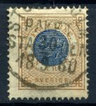 Швеция 1878г. Sc# 38 / 1 kr. / Used VF / кат. - $20.00