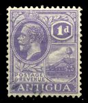 Антигуа 1921-9гг. GB# 64a(SC# 44a) / 1d. / Used VF / Георг V