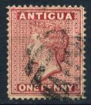 Антигуа 1872г. GB# 13w / 1d. / USED VF