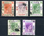 ГОНКОНГ 1938-52гг. GB# 157..162 / 2-10$ / USED F-VF