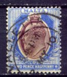 МАЛЬТА 1904-14гг. GB# 52 / USED F-VF / ЭДУАРД