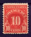 США 1931г. SC# J 84 / 10c. / UNUSED VF