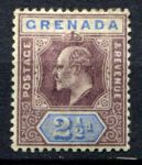 ГРЕНАДА 1902г. GB# 60 / 2 1/2d. MH OG VF