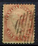 КАНАДА 1859г. GB# 29 / 1c. USED F-VF