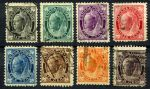 КАНАДА 1897-8гг. GB# 141-9 / 1/2c.-10c. USED F-VF