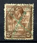 СИЕРРА ЛЕОНЕ 1932г. GB# 164 / 2s. USED F-VF