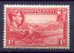 МОНТСЕРРАТ 1938г. GB# 102 / 1d. MNH OG VF