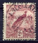 НОВАЯ ГВИНЕЯ 1931г. GB# 151 / 2d. USED F-VF / ФАУНА