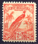 НОВАЯ ГВИНЕЯ 1932-4гг. GB# 179 / 2d. MH OG VF / ФАУНА