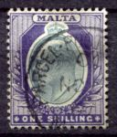 МАЛЬТА 1903-4гг. GB# 44 / 1s. / USED F-VF