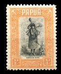 ПАПУА 1932-40гг. GB# 130 / 1/2 d. ОСТРОВИТЯНКА / MH OG VF