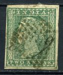 ИНДИЯ 1854г. GB# 10 / 2a. USED F-VF