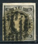 ПОРТУГАЛИЯ 1866-7гг. SC# 17 / 5r. USED XF