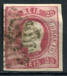 ПОРТУГАЛИЯ 1866-7гг. SC# 20 / 25r. USED XF
