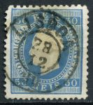 ПОРТУГАЛИЯ 1870-84гг. SC# 43 / 50r. USED XF