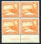 КИПР 1938-51гг. GB# 154 / 1pi. MNH OG VF ном. кв. блок