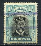 РОДЕЗИЯ 1913-22гг. АДМИРАЛ GB# 233 / 1s. USED VF