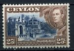 ЦЕЙЛОН 1938-49гг. GB# 392 / 25c. MNH OG VF / АРХИТЕКТУРА