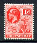 МОНТСЕРРАТ 1922-9гг. GB# 66 / 1d. MNH OG VF