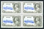 ГРЕНАДА 1935г. GB# 146 / 1d. MNH OG VF кв. блок / АРХИТЕКТУРА