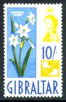 ГИБРАЛТАР 1960-2гг. GB# 172 / 10s. MLH OG VF / ФЛОРА