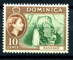 ДОМИНИКА 1954-62г. GB# 150 / 10c. MNH OG VF