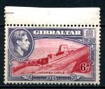 ГИБРАЛТАР 1938-51гг. GB# 126b / 6d. MLH OG VF / АРХИТЕКТУРА