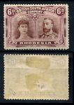 РОДЕЗИЯ 1910-3гг. GB# 144 / 6d. MH OG VF