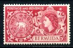 БЕРМУДА 1953-62гг. GB# 148 / 5s. MLH OG VF