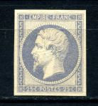 ФРАНЦИЯ 1862г. SC# 17с / 25c. UNUSED F-VF