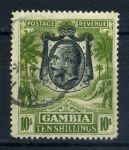 ГАМБИЯ 1922-9гг GB# 142 / 10s. USED VF / ФАУНА