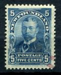 НЬЮФАУНДЛЕНД 1897-1918г. GB# 90 / 5c. USED VF
