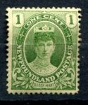 НЬЮФАУНДЛЕНД 1911-16гг. GB# 117 / 1c. MH OG VF