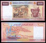 Джибути 2005 г. P# 42 • 1000 франков • Али Ахмеда Оудум • регулярный выпуск • UNC пресс