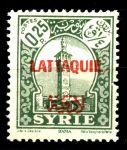Латакия 1931-1933 гг. • SC# 5 • 25 с. • надпечатка на осн. выпуске марок Сирии • зелен. • MNH OG VF