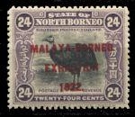 Северное Борнео 1922 г. Gb# 270 • 24 c. • Выставка