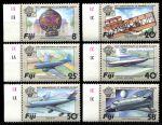 Фиджи 1983 г. • SC# 489-94 • 8 - 58 c. • 200-летие полета братьев Монгольфье • MNH OG XF+ • полн. серия ( кат. - $6 )