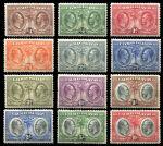 Каймановы о-ва 1932 г. • Gb# 84-95 • ¼ d. - 10 sh. • 100-летие избрания первой Ассамблеи • Георг III и Георг V • MH OG VF • полн. серия ( кат. - £500 )