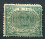 САН МАРИНО 1877г. SC# 1 / 2c. / UNUSED / cat.-75$