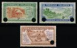 Токелау о-ва 1967 г. • SC# 9-11 • 1 - 10 с. • надпечатка нов. номинала • полн. серия • MNH OG XF ( кат.- $ 7 )