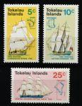 Токелау о-ва 1970 г. • SC# 22-4 • 5 - 20 с. • История открытия островов • корабли и карты • полн. серия • MNH OG XF ( кат.- $ 10 )
